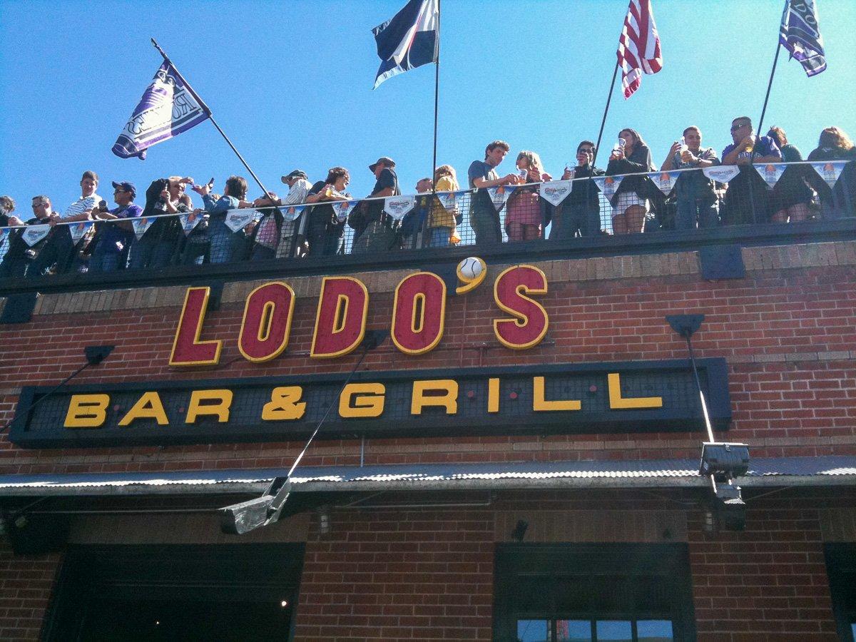 Colorado Rockies Home Opener, Lodo's Bar & Grill
