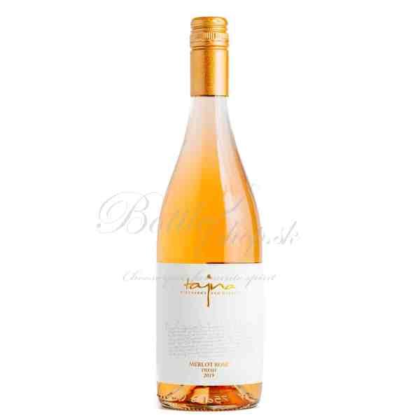 Víno Tájná Merlot fresh rosé suché 0,75 l