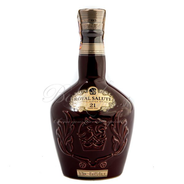 Chivas regal 21 YO royal salute OLD EDITION RUBY 0,7l