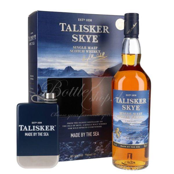 Talisker Skye Single Malt 0,7l 45,8% + ploskačka s kartónom