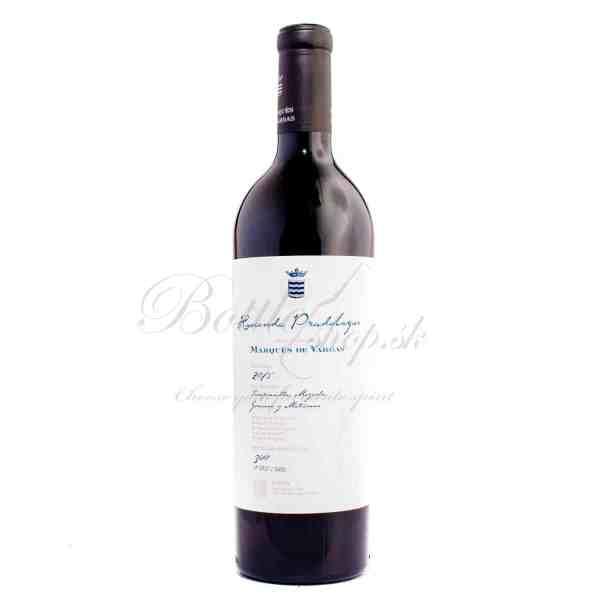 Marqués De Vargas Rioja reserva 2015 0,75l