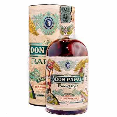 Tmavý rum Don Papa Baroko
