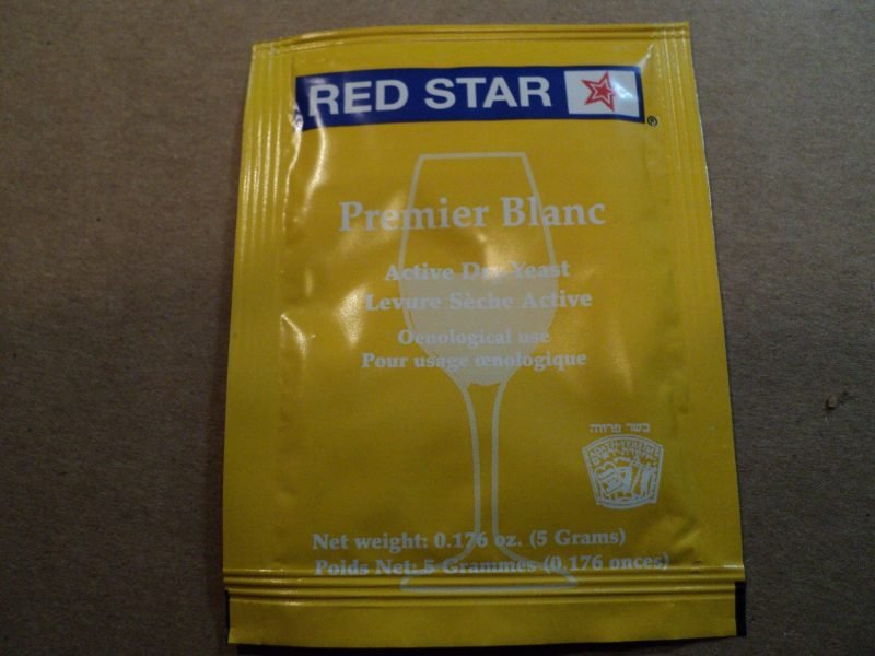 Red Star blanc champagne yeast