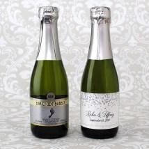 Barefoot Wine Mini Bottles Labels