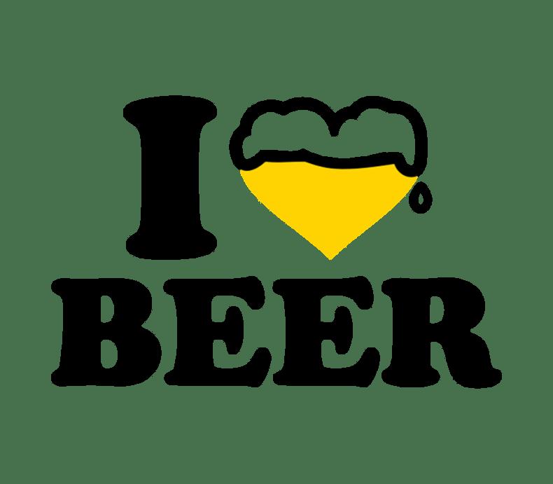 Download I Love Beer Beer Label by BottleYourBrand