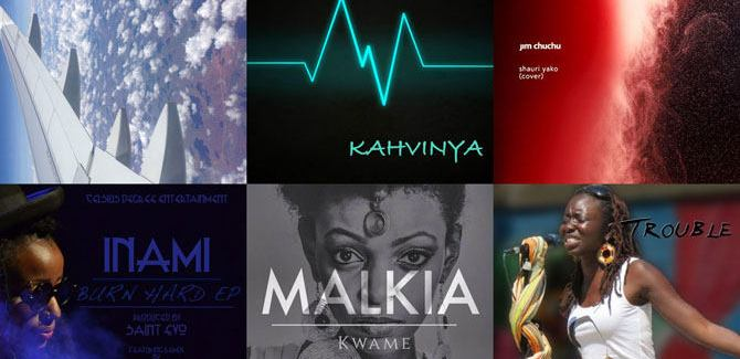 New Music: Jim Chuchu, Wanja Wohoro, Athieno, M³, Kahvinya, Inami + Jinku