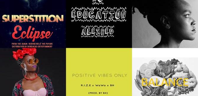 New Music: Alex R.E.D, R.I.Z.E, Rish, J Kali, Eclipse + Labdi