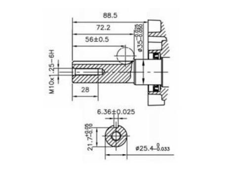 Loncin D440FD5 10Hp Diesel Stationary Engine Hatz Yanmar