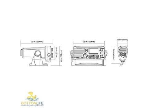 Lowrance Link-8 VHF Radio with AIS & NMEA 2000