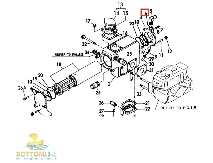 yanmar marine engine parts diagram