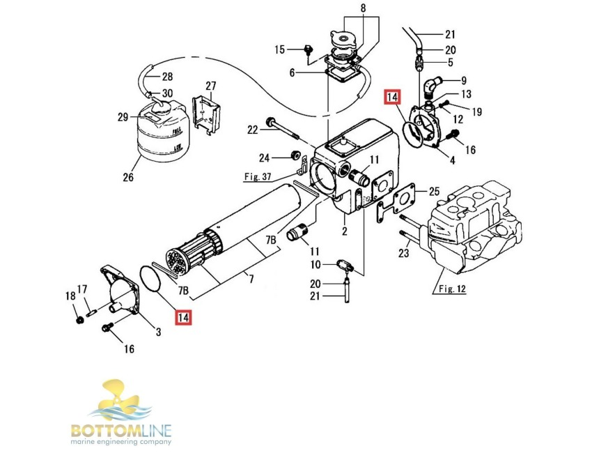 Yanmar 3gmf Engine Diagram. Diagram. Auto Wiring Diagram