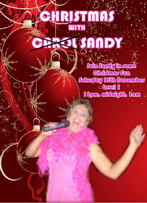 Christmas With Sandy Taxi Club