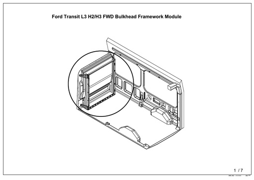 L3H3 FWD Nearside Door Panel (2014-) Mk4