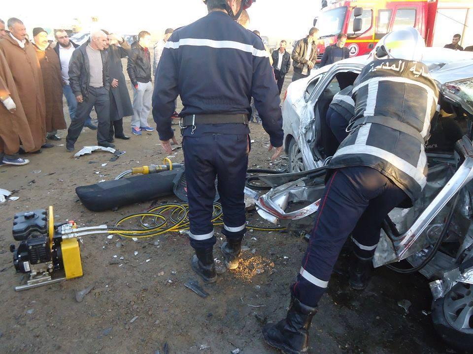 مصالح الحماية المدنية تسجل الحوادث