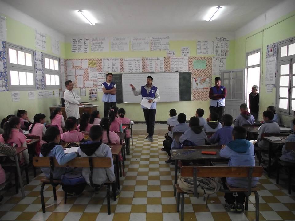 """افلة مشروع """" ترشيد استهلاك الطاقة والماء"""" في مدرسة الإخوة رحموني"""