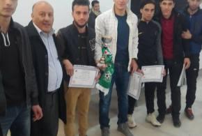 احتفالية لتكريم الطلبة الفائزين بالدورة الرياضية التي نظمتها ملحقة الخدمات الجامعية ببوسعادة
