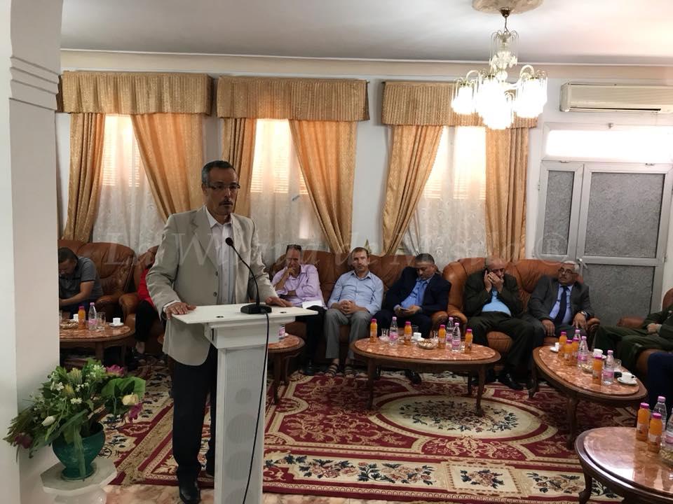 الوالي يشرف على مراسيم احياء اليوم الوطني للصحافة