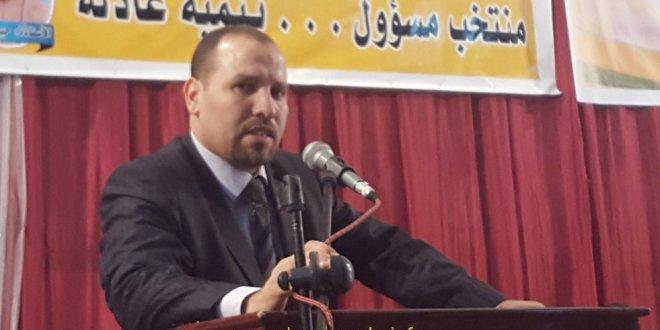 الدكتور عبد الرزاق مقري يشرف على تجمع حاشد لحركة مجتمع السلم ببوسعادة