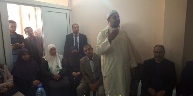 النائبة في البرلمان شتوح عائشة تفتتح مكتبها بأشراف الدكتور مقرى أمام المواطنيين