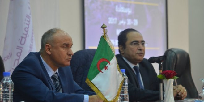 الرئيس المدير العام لبنك التنمية المحلية السيد كريم محمد يلتقى بمتعامليه في يوم دراسي ببوسعادة