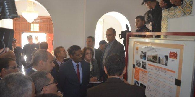 فيديو وزير السياحة و الصناعة التقليدية السيد حسن مرموري يقوم بزيارة عمل و تفقد لبوسعادة