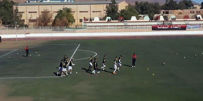 تصفيات الدور 32 من كأس الجزائر شباب عين الصفراء 0 امل بوسعادة 1 ألآمل يتأهل الى الدور 16