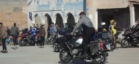 نادي الهواة الريان للرياضات المكانيكية يقوم بأستعراض بساحة الامير عبد القادر ببوسعادة