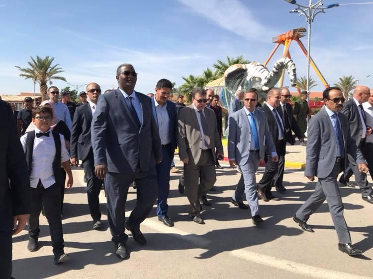 وزير السياحة والصناعة التقليدية السيد عبد القادر بن مسعود في زيارة تفقدية لمسيلة وبوسعادة