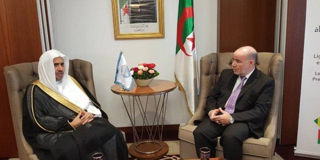 رابطة العالم الاسلامي تثني على جهود الجزائر في التصدي للتطرف والعنصرية والإرهاب