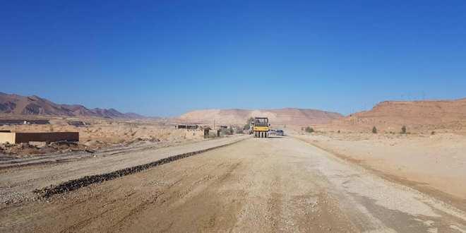 رئيس الدائرة يشرف على إنطلاق أشغال مشروع إنجاز الطريق الإجتنابي لمدينة بوسعادة
