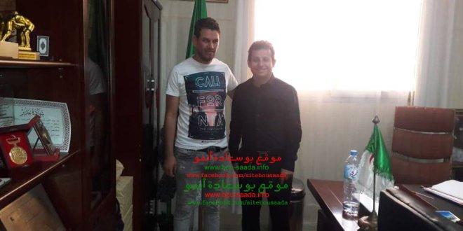 رئيس الامل يلتقى النائب عبد الغاني  وعن قريب لقاء مع وزير الشباب والرياضة