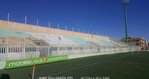الاشغال الاخيرة لفتح مدرجات ملعب مختار عبد اللطيف امام انصار الامل هذا الجمعة