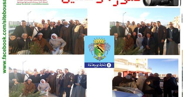 صورة وتعليق .. عودة موظفي البلدية من البقاع المقدسة بعد أدائهم مناسك العمرة