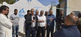 احتجاجات سكان بوسعادة اليوم امام مقر شركة المياه ببوسعادة