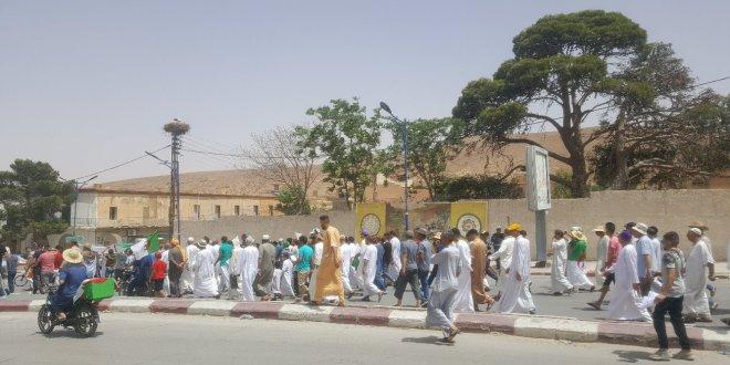 مسيرة سلمية في جمعة الحراك الوطنى 16 ببوسعادة