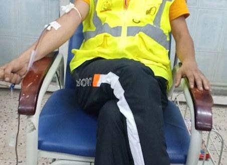 جمعية احباب مدينة بوسعادة تقوم بحملة تبرع بالدم ليلة السابع والعشرون من رمضان
