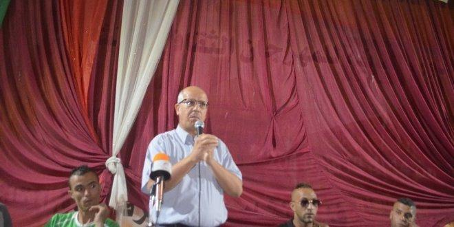 انصار الامل يواصلون احتجاجهم و يحضرون أجتماع رئيس البلدية الذي غابت عنه الاطراف الفاعلة
