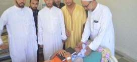 بمناسبة رمضان شهر القران ألائمة يوزعون المصاحف على ذوى ألاسرة البيضاء بمستشفى رزيق ببوسعادة