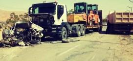 حادث مروري يؤدي لوفاة شخص وإصابة اخر بالطريق الاجتنابي ببوسعادة