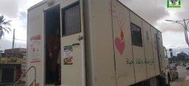 مستشفي رزيق يقوم بحملة تبرع بالدم في وسط مدينة بوسعادة