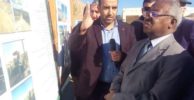 زيارة العمل والتفقد للسيد الوالي إلى بلديات دائرة سيدي عيسى
