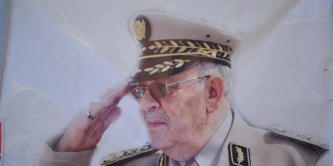بوسعادة تقيم خيمة عزاء لتترحم على روح الفريق احمد قايد صالج فقيد الجزائر