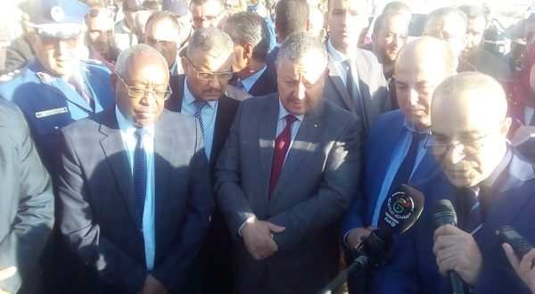 زيارة عمل وتفقد لمعالي وزير الموارد المائية السيد علي حمام  لمشاريع القطاع بولاية المسيلة
