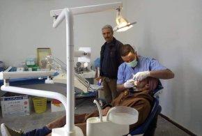 قافلة طبية تجوب قرى بلدية پئر الفضة للمؤسسة الاستشفائية عين الملح