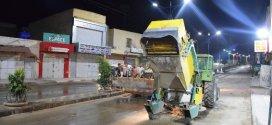 بلدية بوسعادة تقوم بحملة نظافة واسعة بعد الامطار الاخيرة