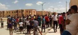 وقفة احتجاجية لسكان سيدي هجرس بالمسيلة