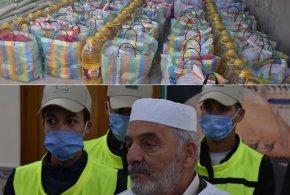 المقاصد الخيرية التضامنية الرمضانية في حملتها الثالثة لتوزيع الطرود الغذائية