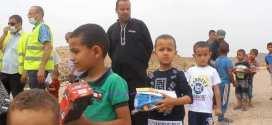 جمعية العقيدين لعين الملح تزور أطفال المناطق المعزولة