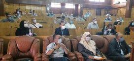 جلسة بمقر المجلس الشعبي الولائي لدراسة الوضعية الوبائية