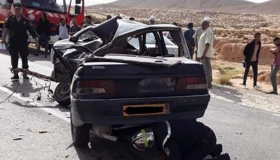 حادث مروري يودي بحياة شخص وجرح اخرين